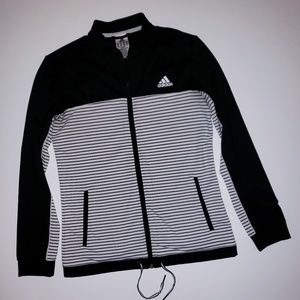 Adidas climalite zip up womans
